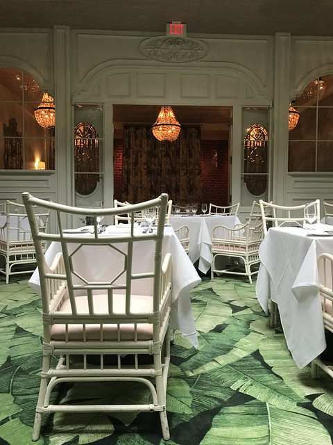 Caribbean Room, Pontchartrain Hotel, New Orleans