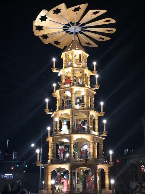Weihnachtspyramide - Christmas Pyramid - in Cullman AL