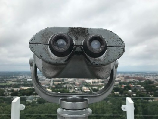 Tower Viewer, View of Birmingham from The Club