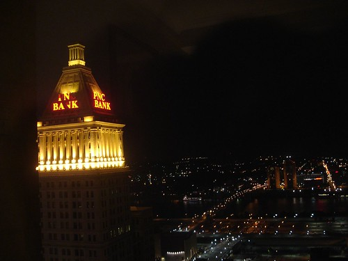 Cincinnati at Night - PNC Bank Building