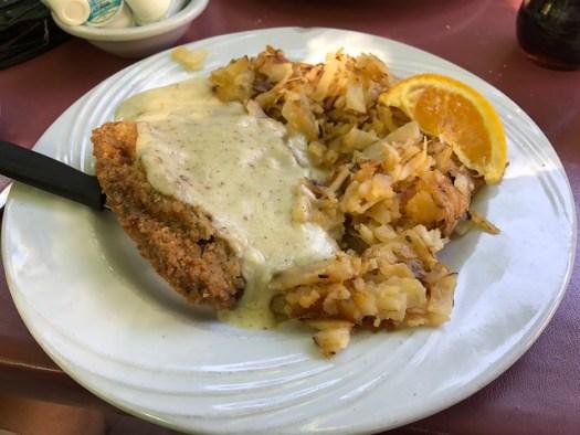 Chicken Fried Steak, Ruth's Diner, Salt Lake City UT