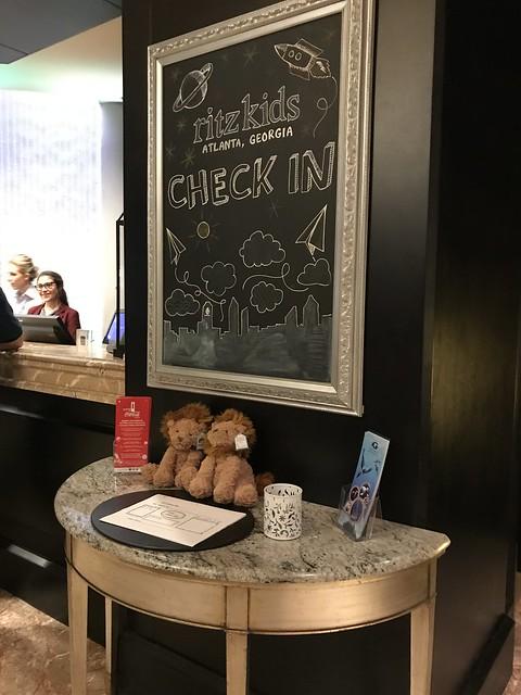 Ritz Kids Check In, Ritz-Carlton Atlanta