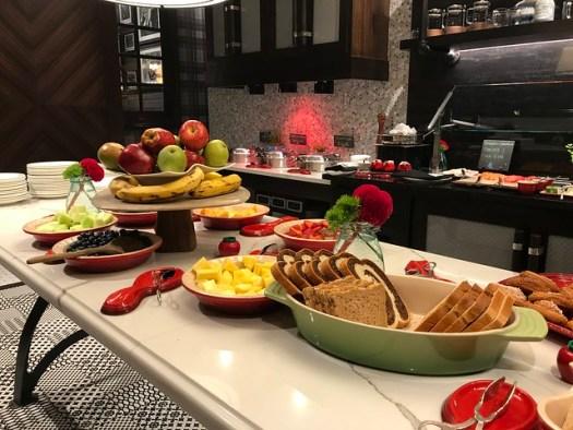 Breakfast at the AG, Ritz-Carlton, Atlanta