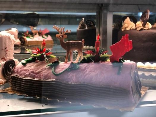 Buche de Noel at Poupart's Bakery in Lafayette LA
