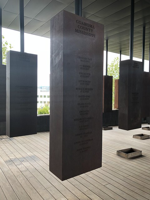 The National Memorial for Peace and Justice, Montgomery AL