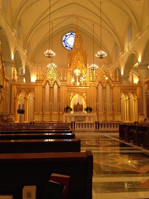 Shrine of the Most Blessed Sacrament, Hanceville AL