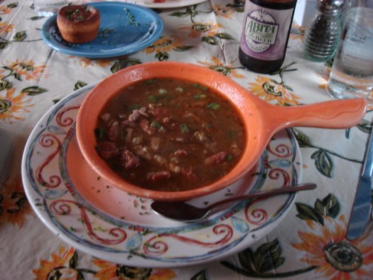 Chicken and Sausage Gumbo, Jacques-Imo's, New Orleans LA