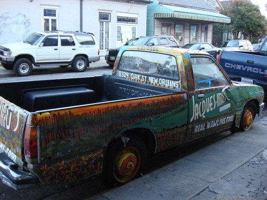Truck That's Always Outside Jacques-Imo's, New Orleans LA