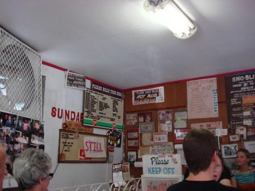 Inside Hansen's Sno-Bliz, New Orleans LA