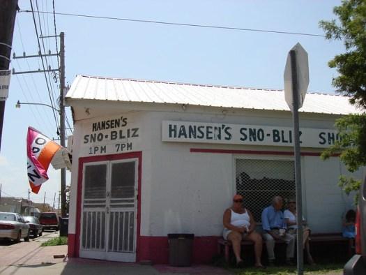 Hansen's Sno-Bliz, New Orleans LA