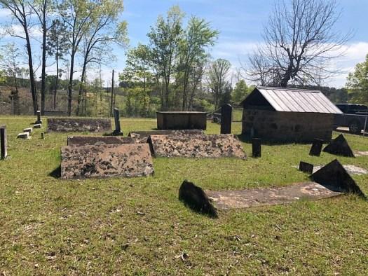 Graveshelter, Liberty Hill Primitive Baptist Church Cemetery, Berry AL