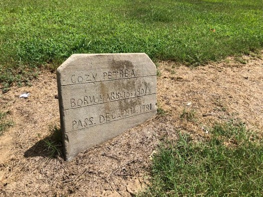 Mullin Cemetery, Robinsonville MS