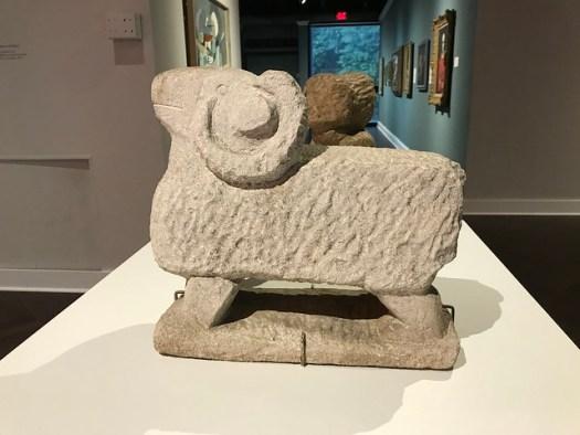 William Edmondson Ram, Memphis Brooks Museum of Art