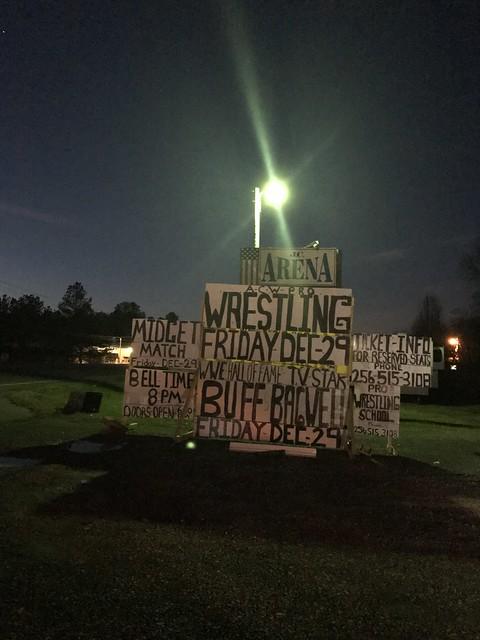 Wrestling Signs, Hanceville AL