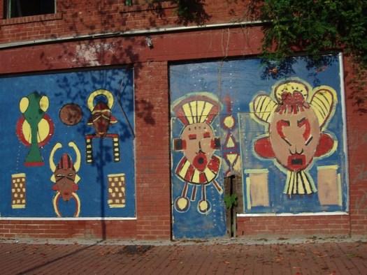 Mural, Farish Street, Jackson MS