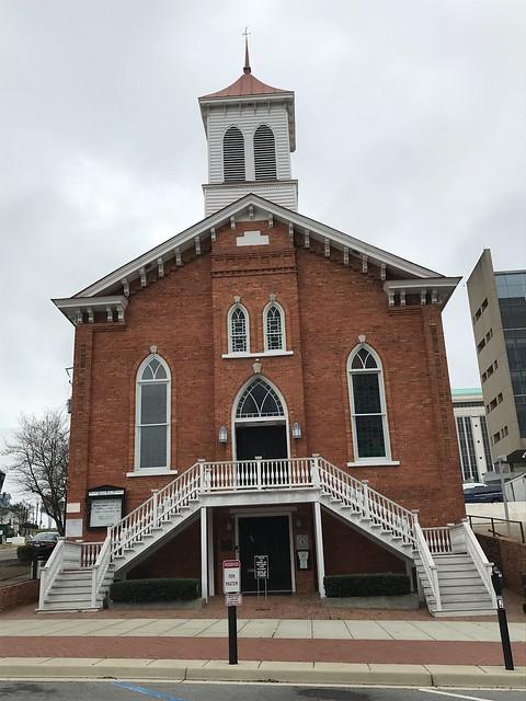 Dexter Avenue Baptist Church, Montgomery AL