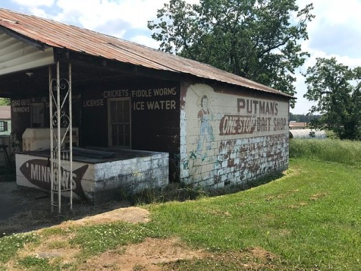 Putman's One Stop Bait Shop, Rogersville AL