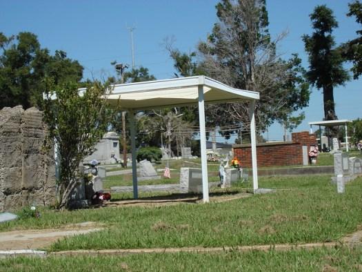 Graveshelters at Old Biloxi Cemetery, Biloxi MS
