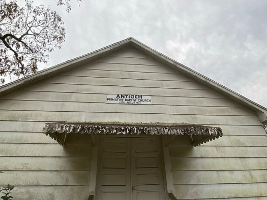 Antioch Primitive Baptist Church, Elba AL