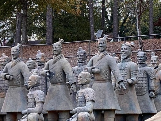 Terracotta Warriors, Troy University, Troy AL
