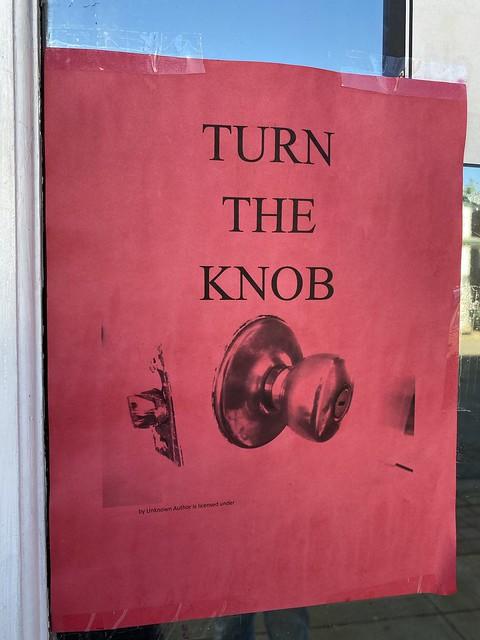 Turn the Knob. Greensboro AL