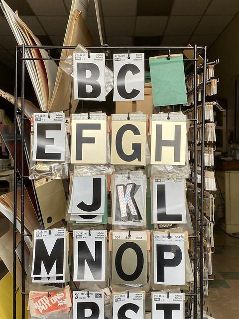 Sticky Letters, Downtown Fayetteville TN