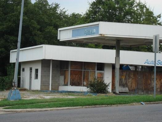 Chevron where Bansky was, Birmingham AL