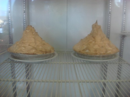 Meringue Pies at Twix 'n Tween (now closed), Centreville AL