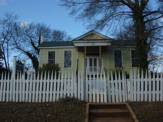 Lea House, Marion AL, Where Margaret Lea and General Sam Houston, President of the Republic of Texas, were married