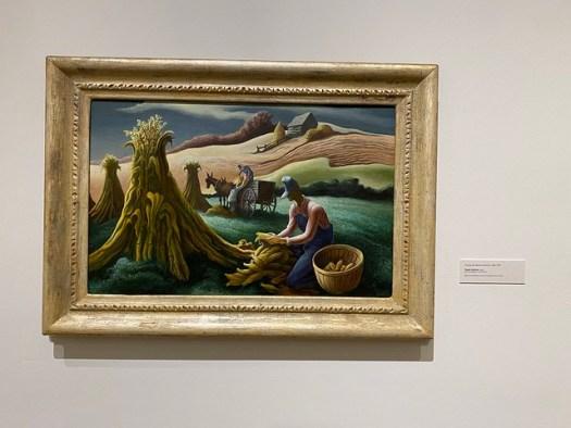 Thomas Hart Benton, Ozark Autumn, Montgomery Museum of Fine Arts, Montgomery AL