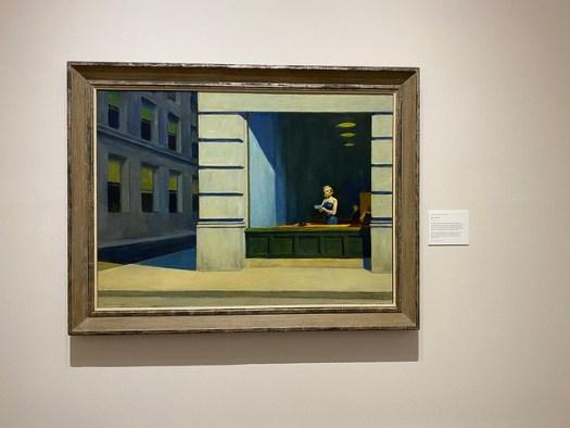 Edward Hopper, New York Office, Montgomery Museum of Fine Arts, Montgomery AL