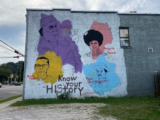 Tim Kerr Mural, Birmingham AL