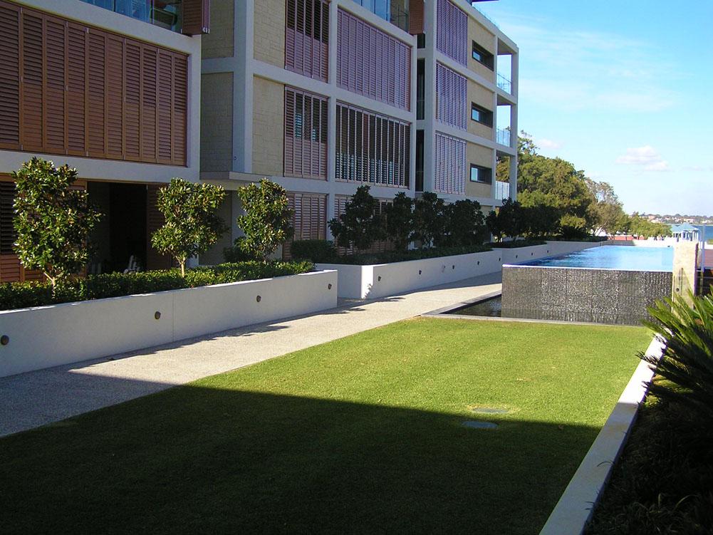Esplanade Perth Turf