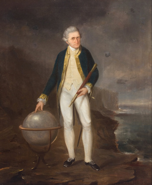 Captain Cook on the coast of New South Wales (Joseph BACKLER/Wikimedia)