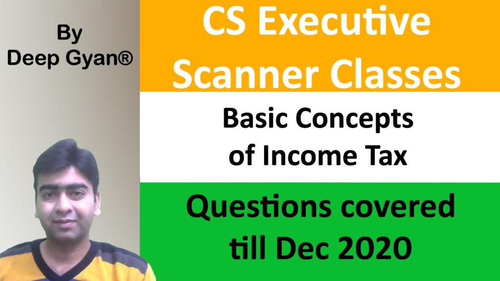 CS Executive Tax Scanner