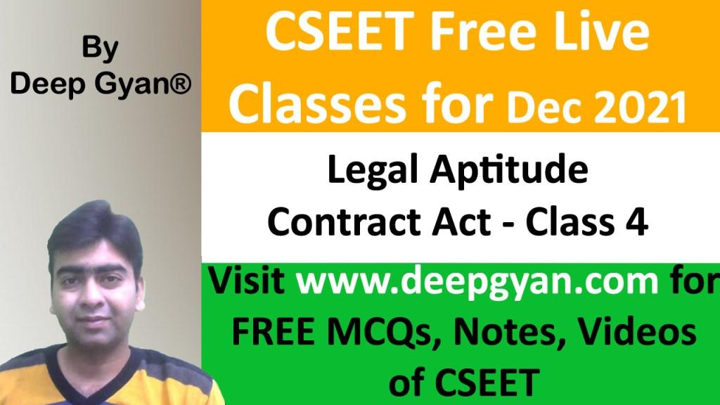 CSEET Legal Aptitude Videos