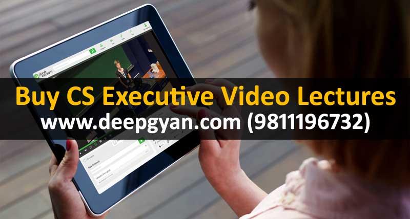CS Executive Video Classes