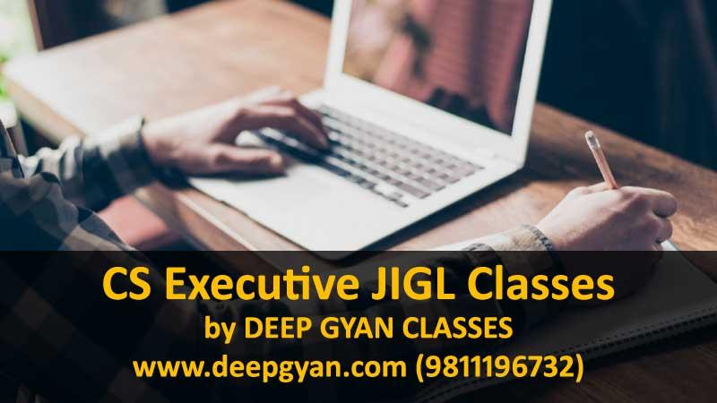 CS Executive JIGL Online Video Lectures