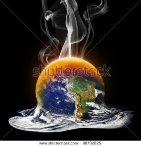 stock-photo-global-warming-melting-the-earth-98702825