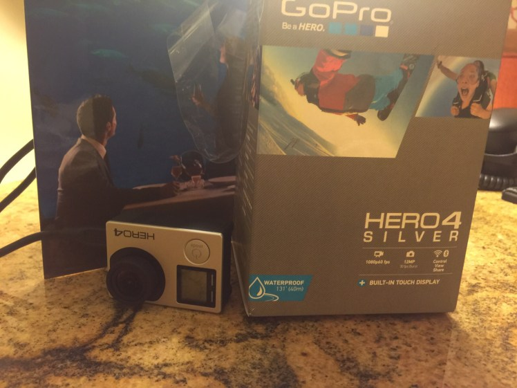 Our new GoPro !