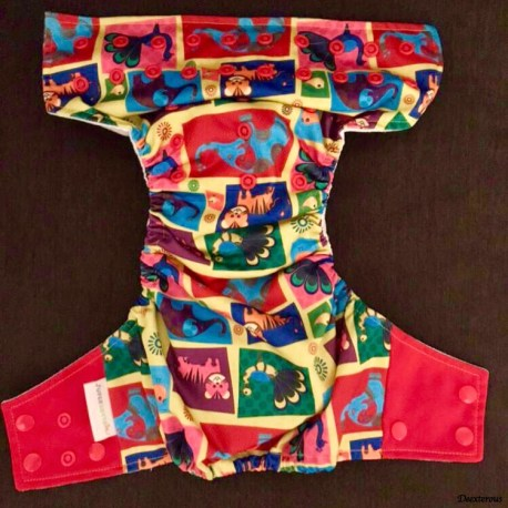 Super bottom cloth diapering, cloth diapering India, modern cloth diapers