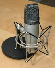 Samson USB microphone for indonesian voice over