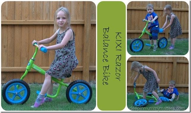 Kixi Razor Balance Bike