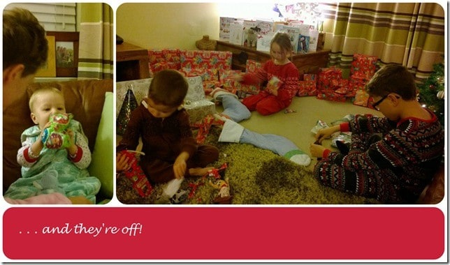 First presents