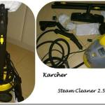 Spring cleaning has started with the Karcher Steam Cleaner