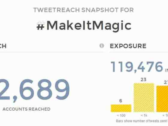 #MakeItMagic