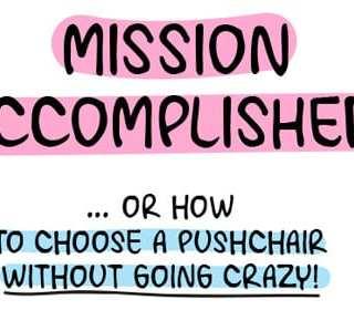 choosing a pushchair