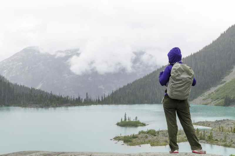 Backpacking solo