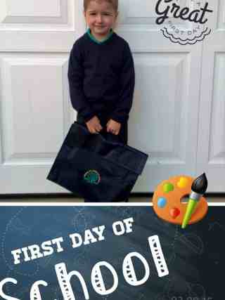 #FirstDayofSchool