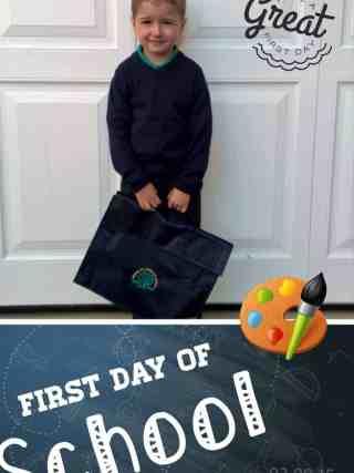 #FirstDayofSchool